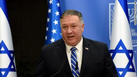 Pompeo, who will address GOP convention, warned diplomats not to 'improperly' take part in politics