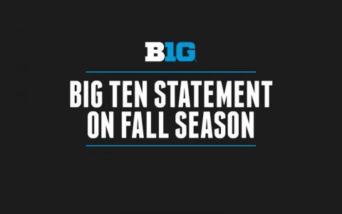 Big Ten Statement on 2020-21 Fall Season
