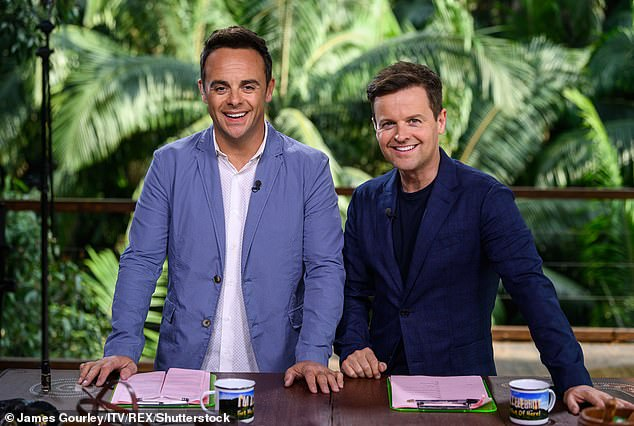 Exciting:Kevin Lygo, the Director of Television at ITV, has revealed that all stars for this year's I'm A Celebrity... Get Me Out Of Here! have been confirmed (hosts Ant and Dec pictured)