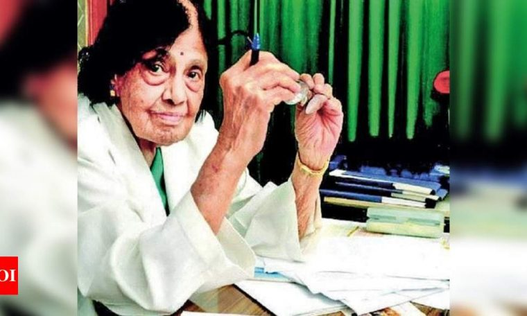 India's 1st female cardiologist dies of Covid at 103 | India News