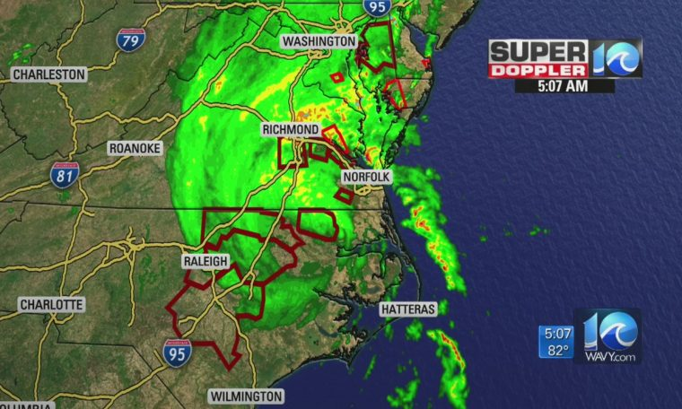 Isaias live updates: Tornado warnings, power outages as tropical storm heads into Hampton Roads