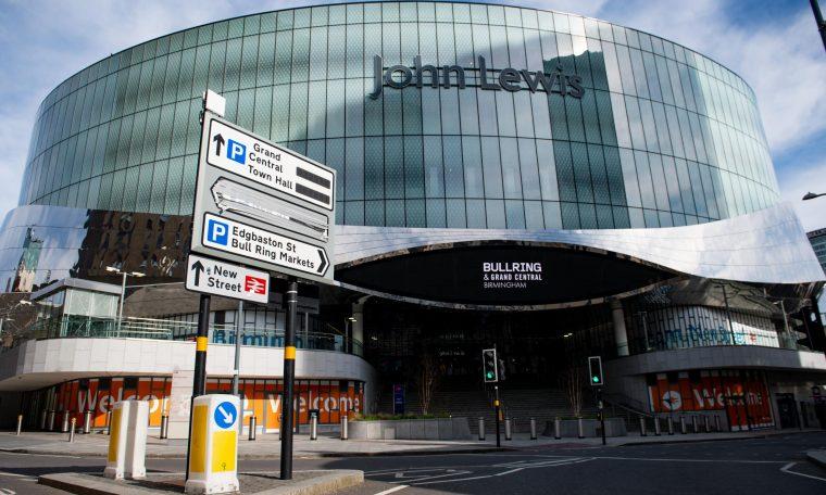 John Lewis confirms eight store closures including Birmingham flagship