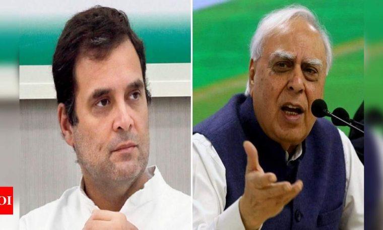 Kapil Sibal withdraws tweet, says Rahul has 'personally' clarified he did not make the BJP remark | India News