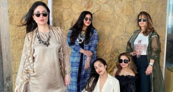 Kareena Kapoor Khan, Malaika Arora & others have a squad reunion & we can't get enough of their PHOTOS