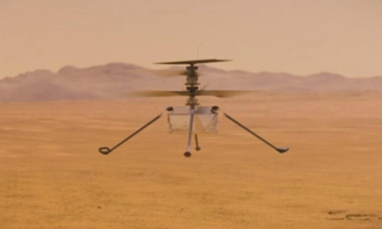 """Mars helicopter reaches """"big milestone"""" on flight to planet"""