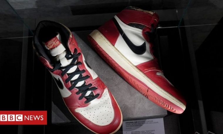 Michael Jordan: Rare trainers to fetch at least $500,000 at auction