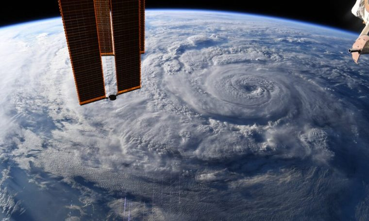 NASA astronaut captures stunning pictures of hurricane Genevieve from space