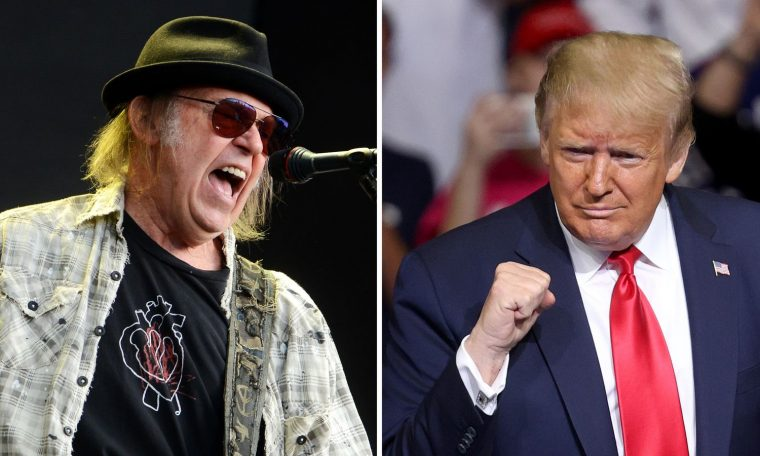 Neil Young is suing the Trump campaign over the use of his songs