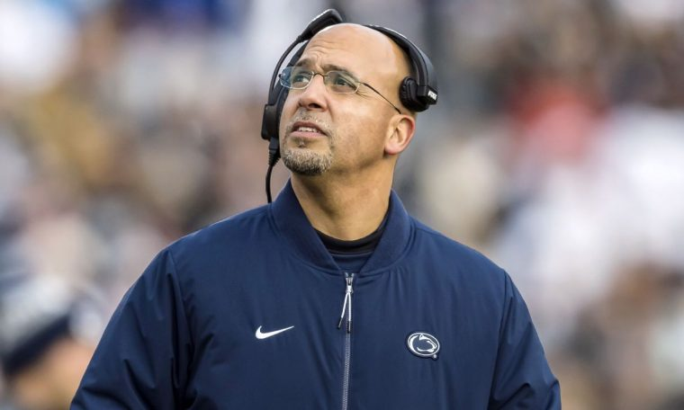 Penn State football coach James Franklin frustrated by Big Ten communication on postponement