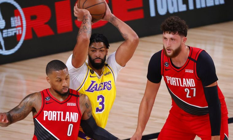 Portland Trail Blazers vs. Los Angeles Lakers Game 3 Preview