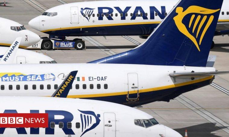 Ryanair cuts flights as EU virus rates hit bookings