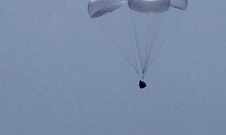 SpaceX Crew Dragon astronauts describe thrilling return to Earth