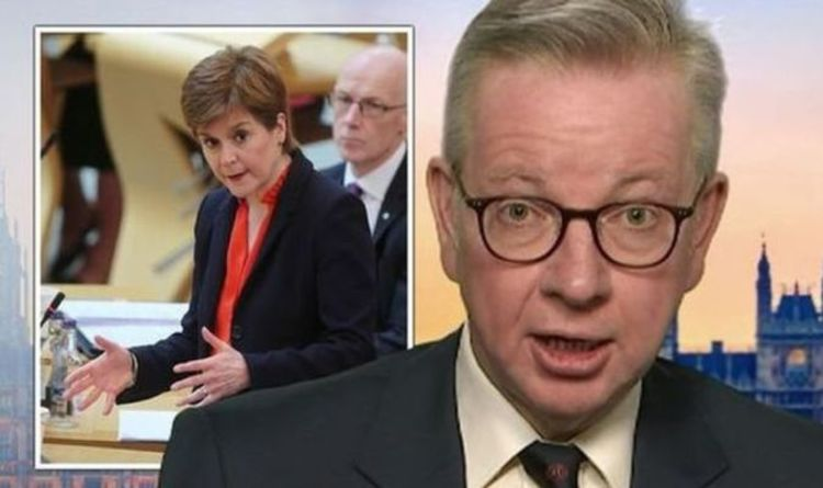Sturgeon's dream facing ruin as Gove launches plot to work with Labour to thwart IndyRef2 | Politics | News