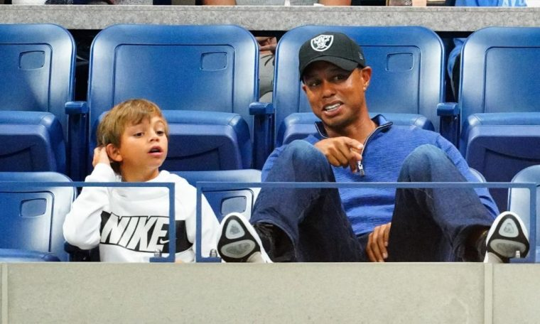 Tiger Woods' 11-year-old son wins Junior Golf tournament
