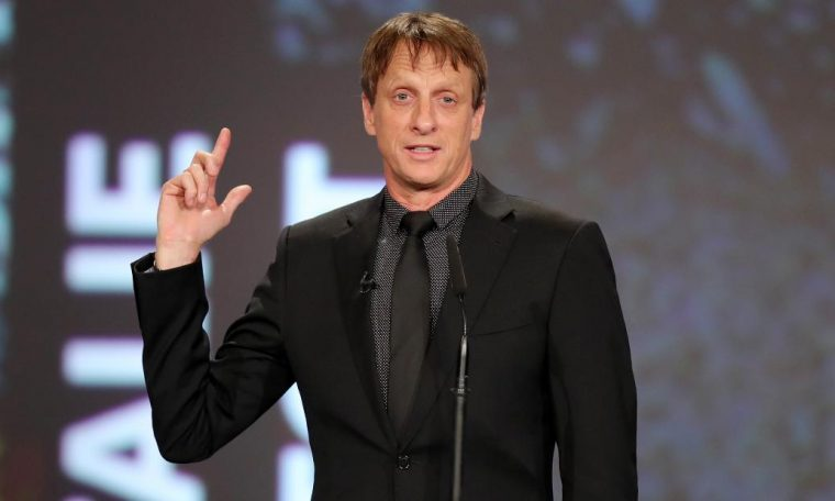 Skateboarding legend Tony Hawk reveals truth behind famous trick