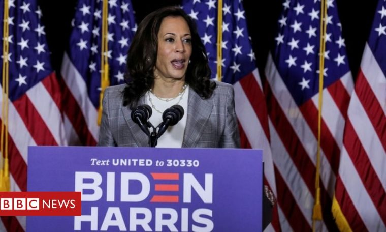 Trump stokes 'birther' theory about Kamala Harris