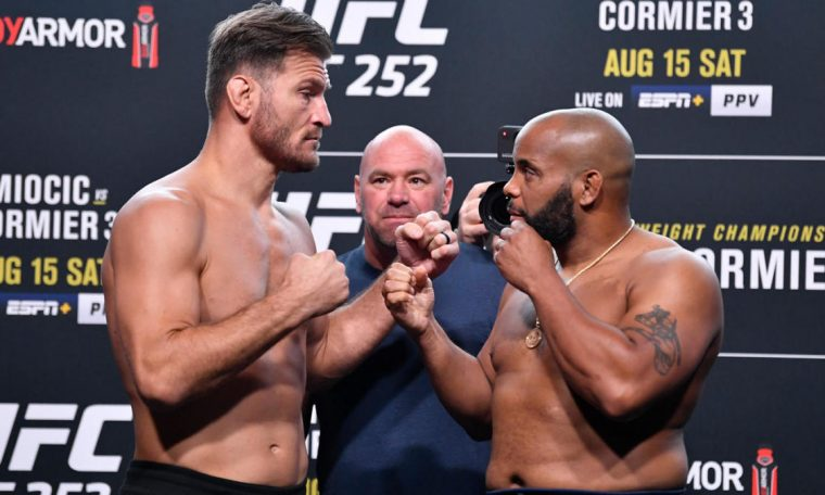 UFC 252 results -- Stipe Miocic vs. Daniel Cormier: Live updates, fight card, prelims, highlights, start time