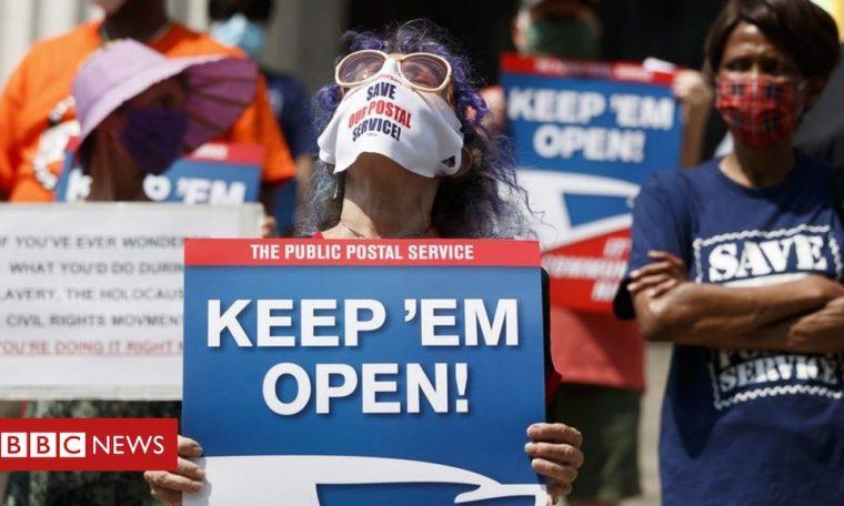 US Postal Service: Three states sue Trump government