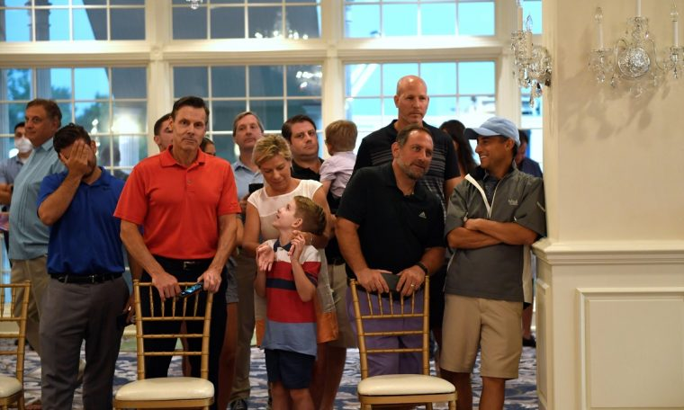 With latest executive orders, Trump gets approval from his golf club crowd