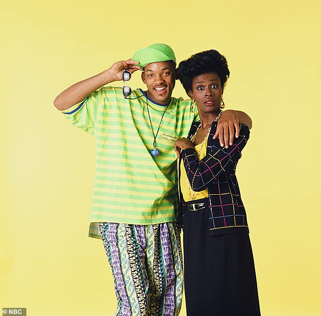 Diva? The original Vivian Banks, King Ester star Janet Hubert (R), was mysteriously fired off the popular show after the first three seasons due to an alleged 'feud with network officials'