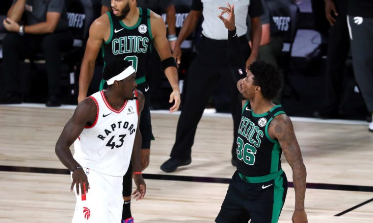 Marcus Smart's big game gives Celtics a 2-0 series lead over the Raptors