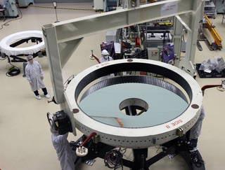 Crane Operator Roman Space Telescope Primary Mirror