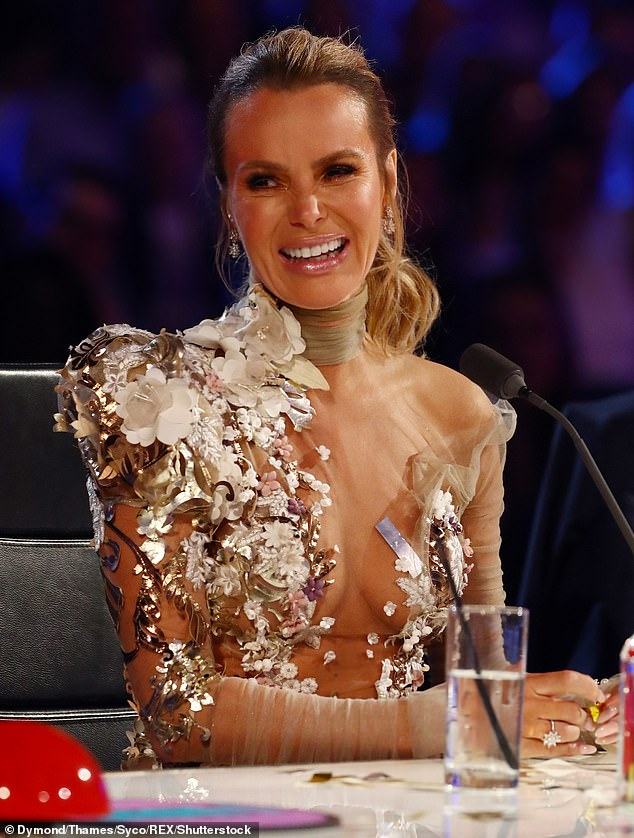 Too much!  In recent years, Amanda's BGT live show has angered viewers who claim to be appearing on pre-watershed television as well.