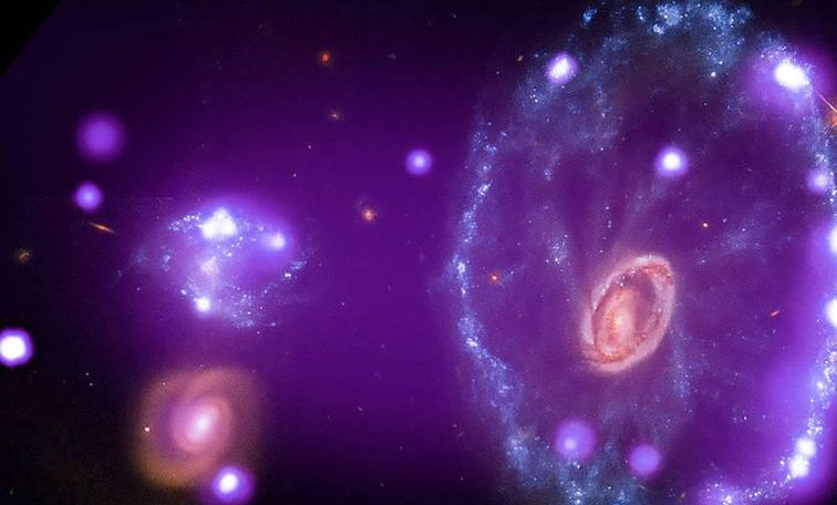 NASA releases glowing new images of galaxies, stars and supernova fossils