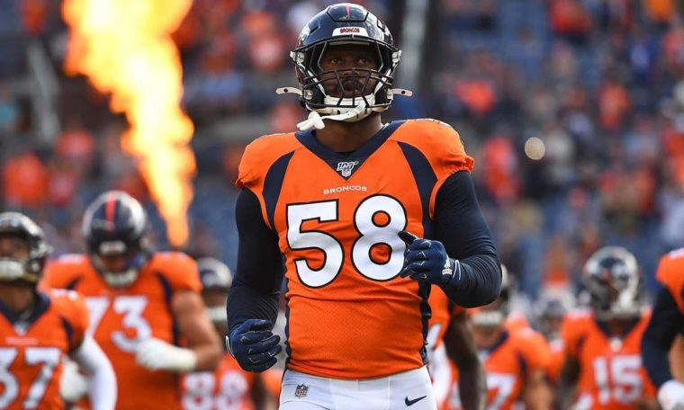Von Miller Injury: The Broncos Star Needs End-of-Season Ankle Surgery According to Every Report