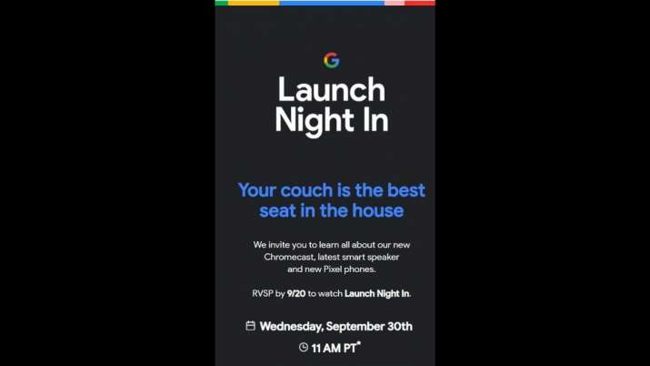 India TV - Google, Google Pixel, Pixel, Pixel 5, Pixel 5 launch, Pixel 5 launch on September 30, Pixel 5 feature