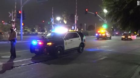 Los Angeles deputy saves comrade's life after bleeding from facial wounds after Compton shooting