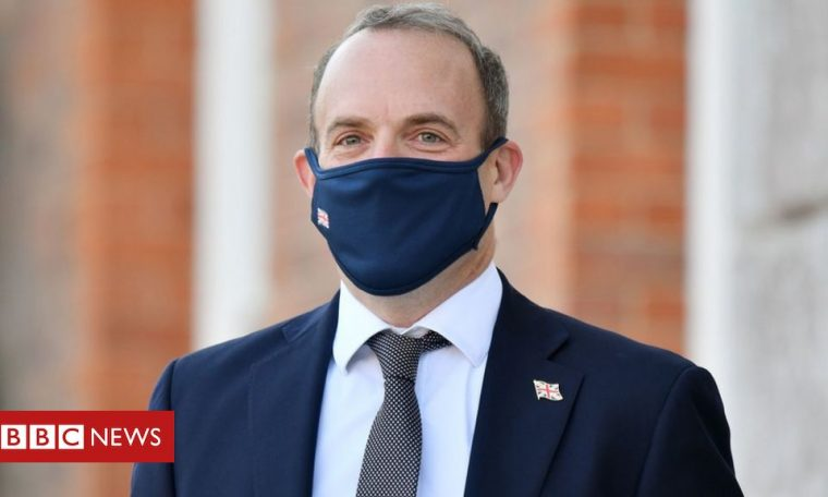 Brexit: Dominic Raab seeks reassurance to US politicians over Brexit bill