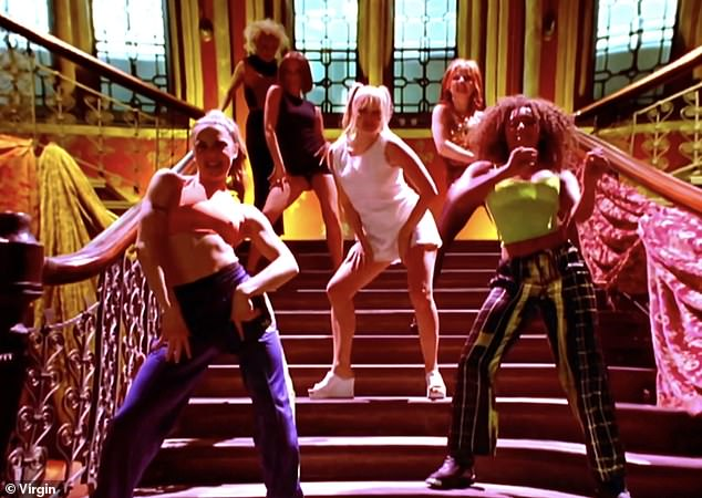 Iconic: The video was shot on the steps of the former Midland Grand Hotel in London's St. Pancras and has become a fan favorite.