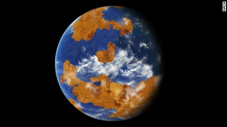 Venus was probably able to live until a mysterious event occurred