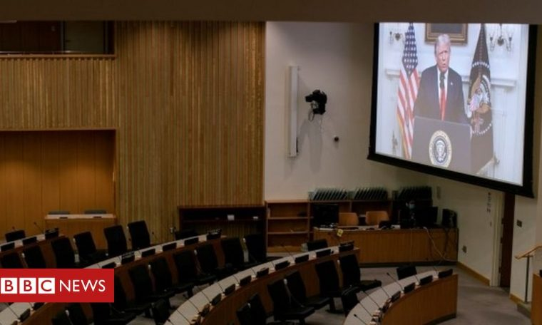 United Nations General Assembly: US-China Tensions Rise Over Coronavirus