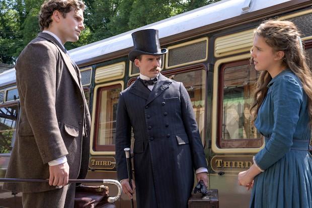 Anola Holmes features Henry Cavill, Sam Cleflin and Mili Bobby Bra.