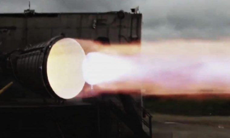 SpaceX's first biblical starship engine just caught fire