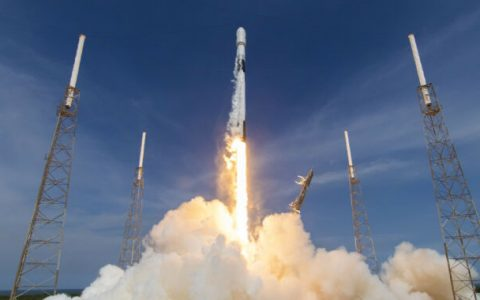 The space force says it will fly the first-ever Falcon 9 rocket.
