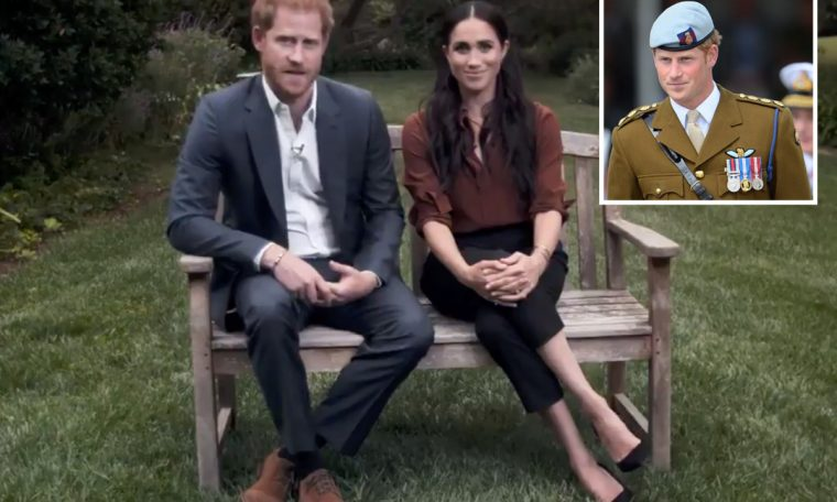 Prince Harry 'smashed any hope of returning to his beloved military duties with Trump's swipe that violated the Megacit deal'