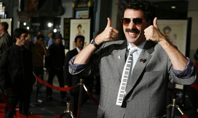 'Borat 2' has a very long and very rough title