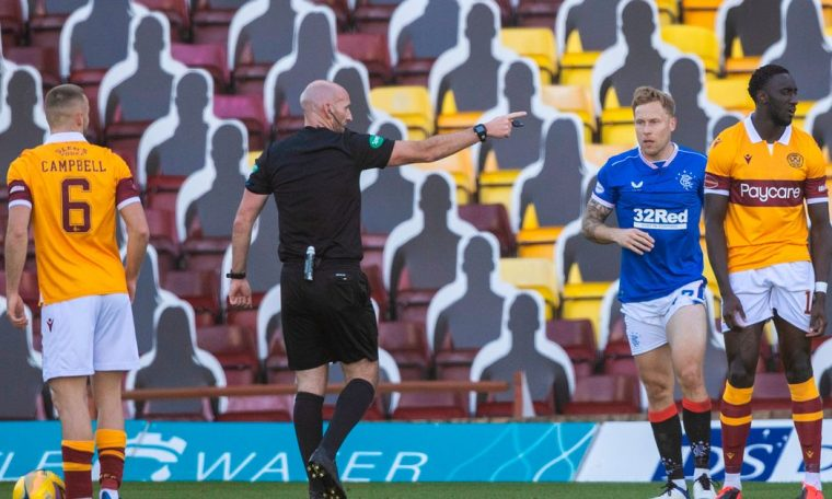 The handball law falls under the microscope, as the Motherwell vs. Rangers penalty decisions are evaluated.