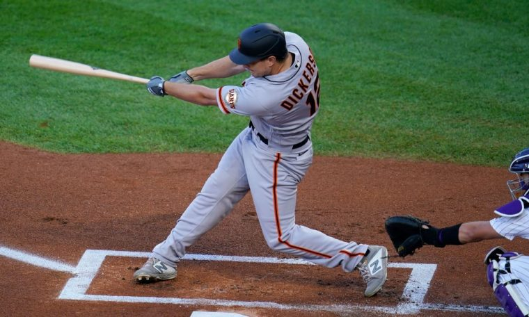 Alex Dixon's three Homers lead the Giants' historic offensive
