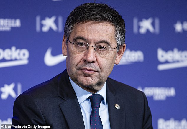 Barcelona President Josep Maria Bartomeu and his board have been accused of corruption.