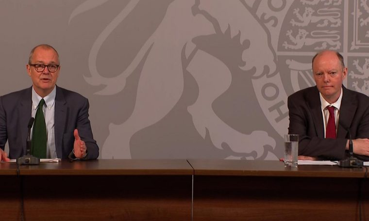 Coronavirus Live - Latest News Updates: Chris Whitty and Patrick Valence Brief Downing Street World News