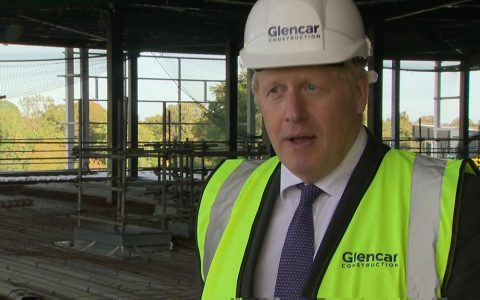 Covid-19: Boris Johnson says second wave is now hitting the UK