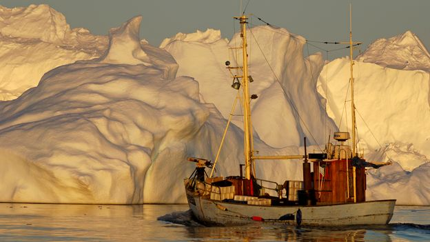Dare to save Arctic ice with glass
