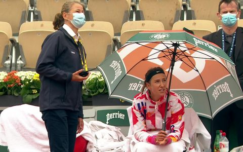French Open 2020 - Victoria Azarenka and Danka Kovinic enter the tournament in 24 minutes