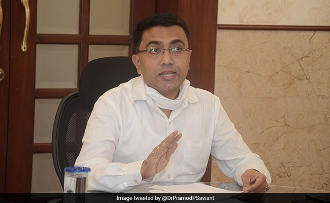 Goa CM Pramod Sawant Tests Covid Positive, In Home Equation