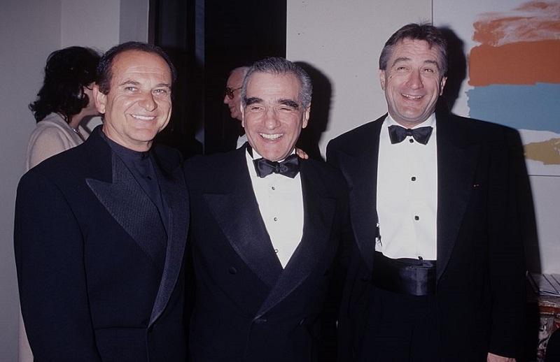 Joe Pesky, Robert De Niro and Martin Scorsi