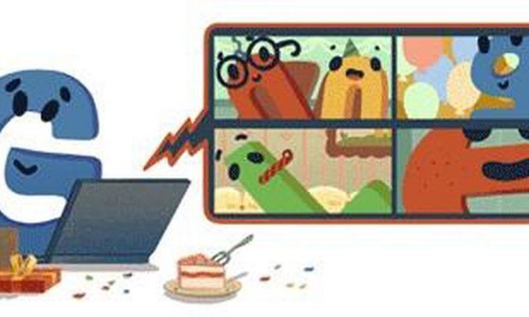 Google celebrates its 22nd birthday on its own